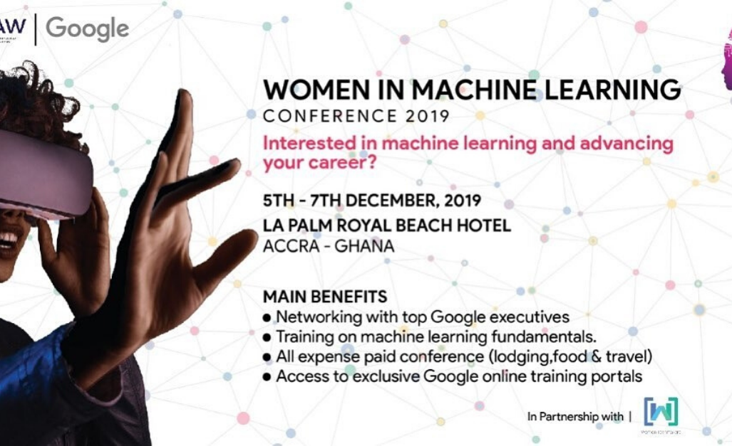 Women in Machine Learning: The First of its kind in Africa!